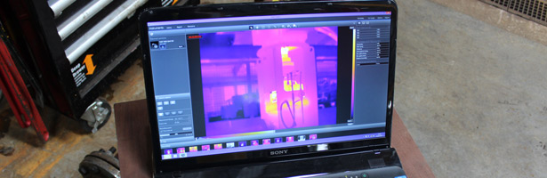 FLIR TOOLS SOFTWARE USED IN PUMP GROUPS INHOUSE TEST CELL